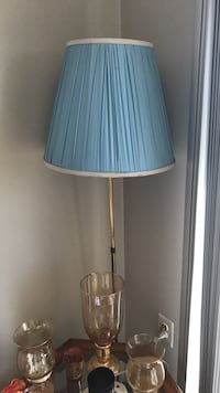 Floor lamp blue shade Hyattsville, 20782