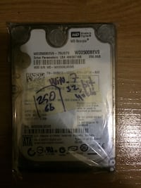 250 GB Notebook Harddisk 2.5 inç Etimesgut, 06794