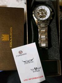 skeleton watch  new never worn original $2700  Edmonton, T6A 2E4