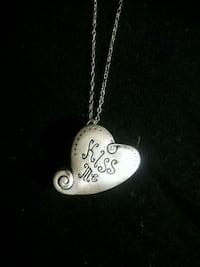 silver-colored heart pendant Saint Catharines