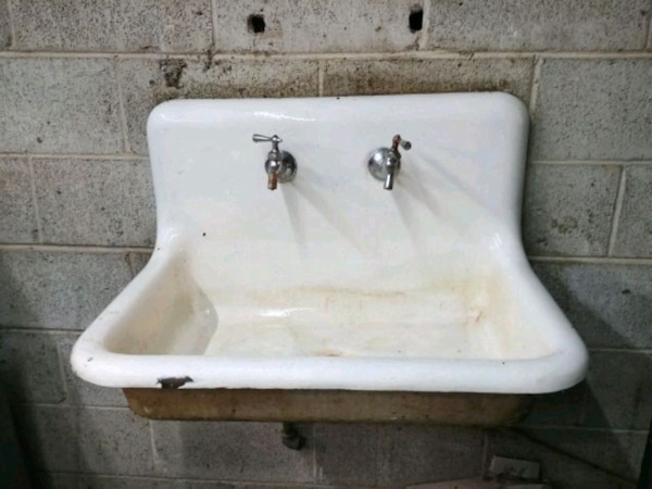 Used Cast Iron Wall Mount Sink For Sale In Millville Letgo