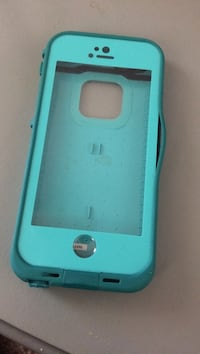 Teal 360 iphone case