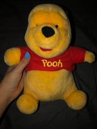 Winnie the poo stuffed animal