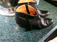 Leather Womens Bootie Shoes 2355 mi