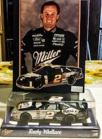 Rusty Wallace Nascar 2 piece set  null
