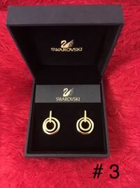 20% off if buy any 2 or more Swarovski Jewelry Earrings, hair accessories ,charms &bracelets  --Both brand new Earrings $80 each -- All brand new hair accessories #6 European Limited Edition......$100 #7 .......$80 , #8.......$60 -- Charms #5 Brand new .. Markham