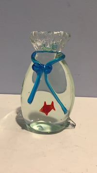 Paper Weight Carnival Goldfish in a bag. Elkton, 21921