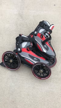 Mojo Landroller in-line skates.  Size 13.   Excellent condition.  They're $230 new.   The Dog Whisperer Cesar Milan made them famous. Santa Maria, 93455