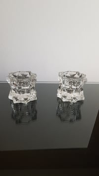 """Mikasa """"Sparkling Star"""" Candle holders Toronto, M1T 1R3"""