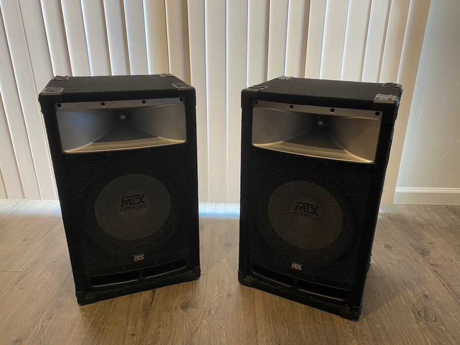 Photo MTX Audio TP112 Loudspeakers (pair)