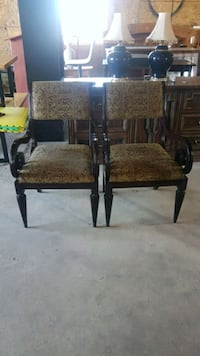 Pair of antique accent chairs  Caledon, L7E 0Y1