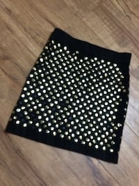 Studded Mini Skirt (Small) Edmonton, T6E 0N6