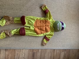 Kids Ninja Turtle Halloween Costume