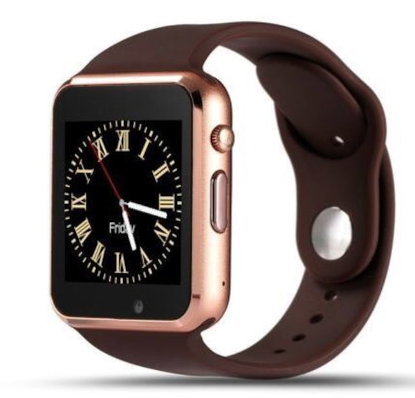 silver aluminum case Apple Watch with black sports band