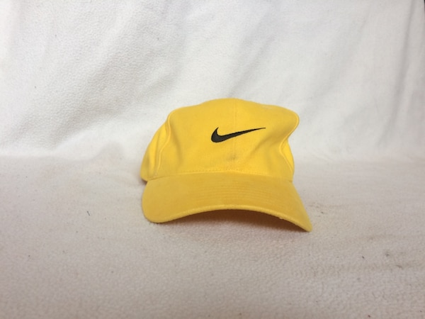 362acd06c81 Used Vintage Nike Air Yellow Baseball Cap Hat Livestrong Jordan Running  Supreme Bape for sale in Lincoln - letgo
