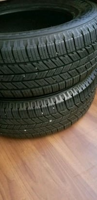 Tires like new 225 65 17 25 mi