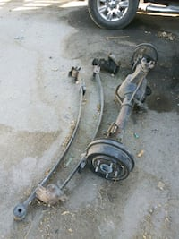 1968 Camero rear end leaf springs steering box Bakersfield