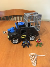 Fisher Price imaginext Batman hummer vehicle action figures super friends  Niagara Falls, L2H 1X2