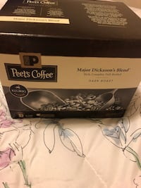 Keurig K Cups Peet's Coffee Major Dickason's Blend 32 Count  Vallejo, 94590