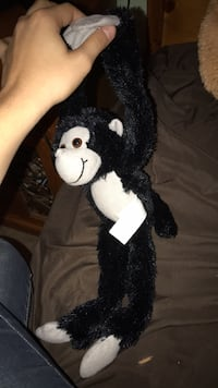 Plush stuffed monkey with velcro attachable hands Bakersfield, 93309