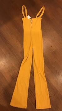 Mustard extra small xs jumpsuit overalls new with tags  550 km