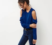 Damen Bluse Off shoulder Offenbach am Main, 63073