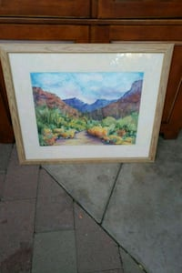 Sabino canyon painting Tucson, 85705