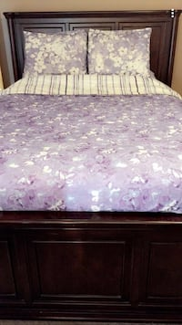 Queen bed with drawers both sides Edmonton, T6X