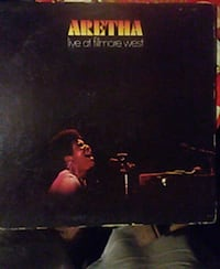Aretha Franklin live at the Fillmore West St. Louis, 63125