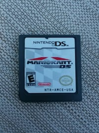 Nintendo DS Mario Kart game cartridge Downers Grove, 60515
