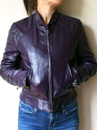 Real leather new jacket Ullern, 0379
