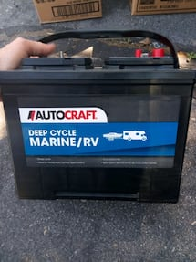 Marine Deep Cycle Battery/ Brand New