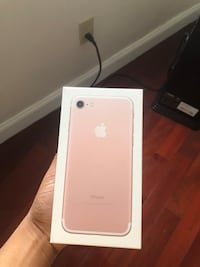 iphone 7 unlocked mint condition 128gb rose gold