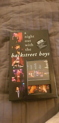 Backstreet Boys VHS + CD 6659 km