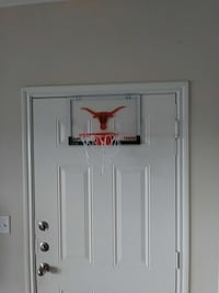white and red indoor basketball hoop Dallas, 75211