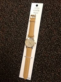 Tan leather watch Hagerstown, 21740