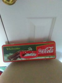 red and black Coca-Cola box Old Fort, 28762