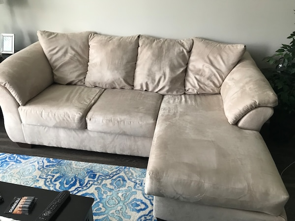 Couch (Darcy sofa chaise from Ashley Furniture Homestore)