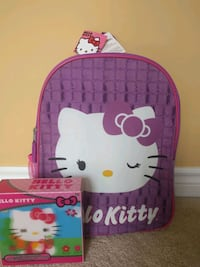 Hello Kitty BACKPACK+100 PUZZLES Toronto, M2N 0A5