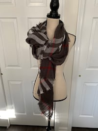 Amare Plaid Oblong Scarf Freehold, 07728
