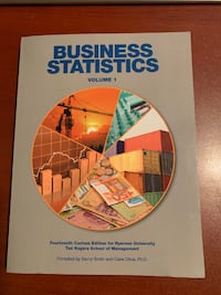NEW Business Statistics Vol 1,14th Ed + Student Access Code QMS102 Labs