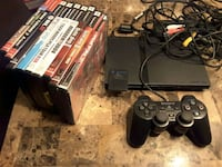 PS2 slim with 1 controller and a few games Laval, H7S 1L4