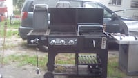 black and gray gas grill Saint Petersburg
