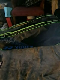yonex bag filled with tennis rackets and badminton Vancouver, V5V 3C2
