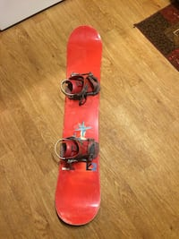 K2 Satellite board and bindings Manchester