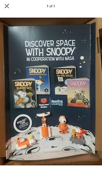 2019 McDonalds Happy Meal Space with Snoopy Store Display  Philadelphia, 19136