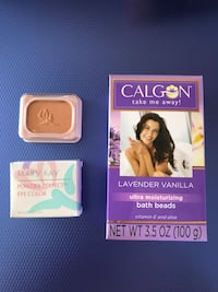 Calgon, Mary Kay Cosmetics and EMPTY Metal Can - FREE 7729 km