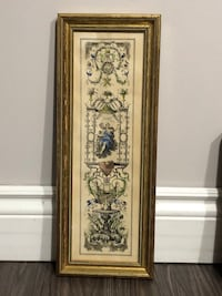 Old Picture, gold wood frame Whitby, L1N