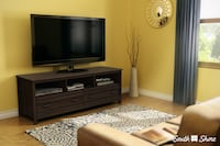 """South shore Brown wooden (up to 60"""") tv stand New York, 10471"""