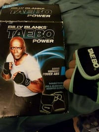 rare tae bo weight gloves for boxing training ufc